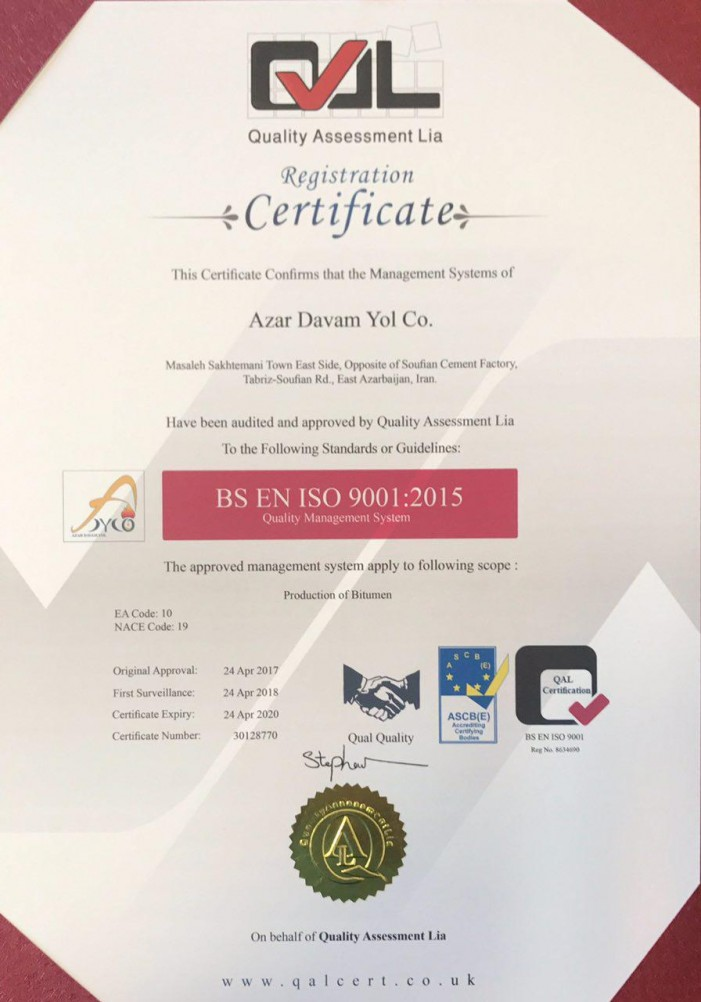 Iso 9001 - 2015