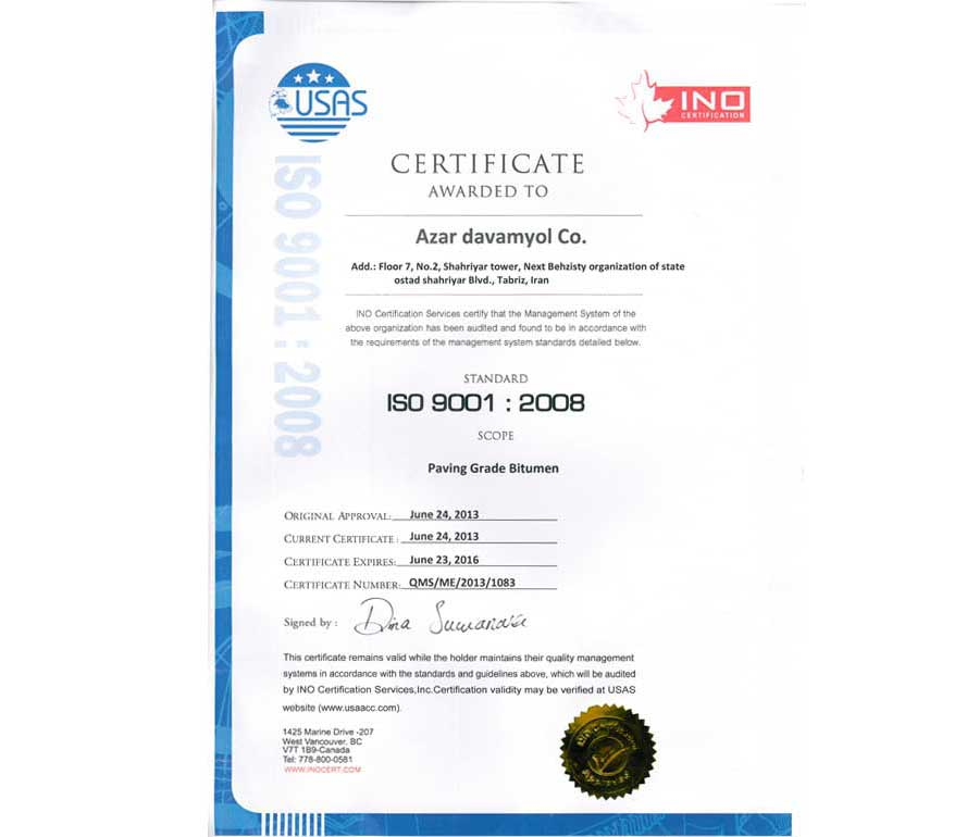 Iso 9001 - 2013